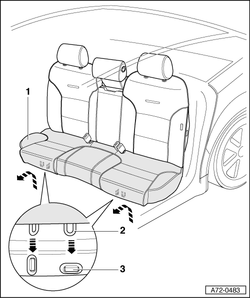 Audi Faq Removing And Installing Rear Seat Bench